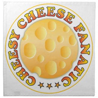 Fanático caseoso del queso servilletas