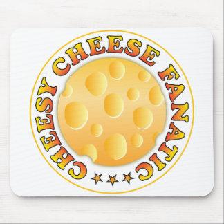 Fanático caseoso del queso alfombrilla de ratón
