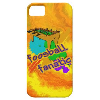 Fanático de Foosball iPhone 5 Carcasas