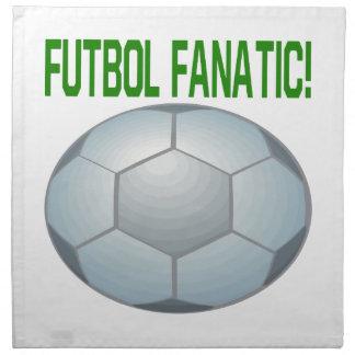 Fanático de Futbol Servilletas