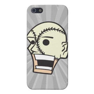 fanático de la fan de la cara del béisbol iPhone 5 fundas