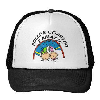Fanático de la montaña rusa gorras