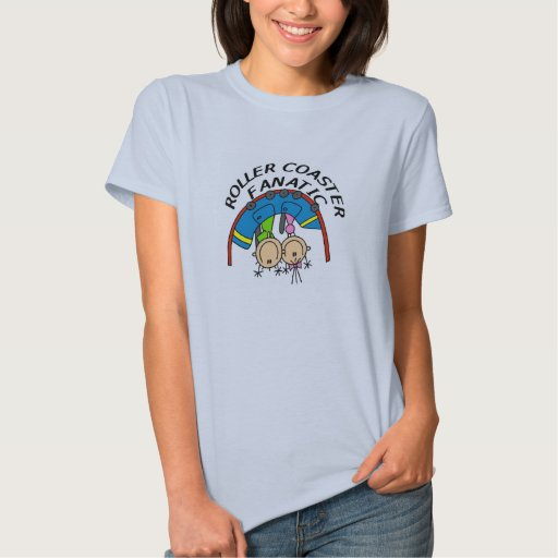 Fanático de la montaña rusa t-shirts