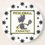 Fanático de Pickleball Posavasos Diseño