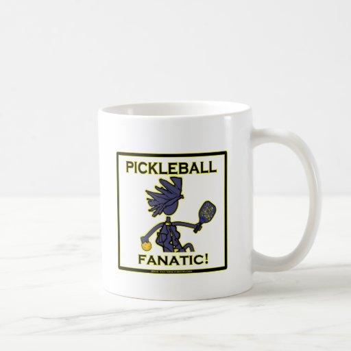 Fanático de Pickleball Taza De Café