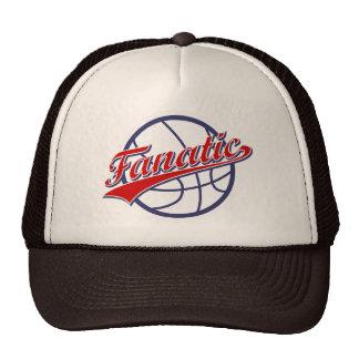 Fanático del baloncesto gorras de camionero