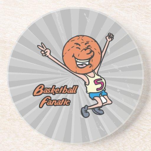 fanático del baloncesto posavasos manualidades
