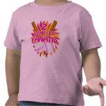 Fanático del béisbol de 2 años camiseta