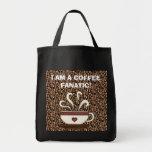 ¡FANÁTICO DEL CAFÉ! Bolso del regalo Bolsas De Mano