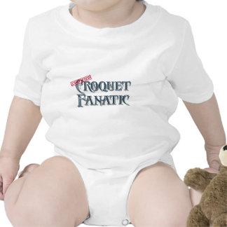 Fanático del croquet trajes de bebé
