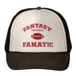 Fanático del fútbol de la fantasía gorros