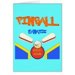 Fanático del pinball tarjetas