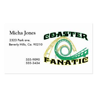 Fanático del práctico de costa tarjetas de visita