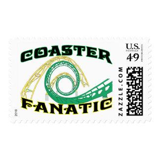 Fanático del práctico de costa timbres postales