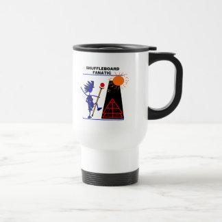 Fanático del Shuffleboard Tazas De Café