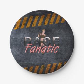 Fanático SUPERIOR de la raza Plato De Papel 17,78 Cm