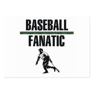 Fanático SUPERIOR del béisbol Tarjeta De Visita