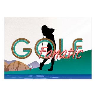 Fanático SUPERIOR del golf Tarjetas De Negocios