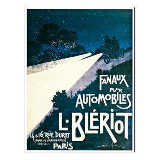 Fanaux Pour Automobiles L Bleriot - Paris, France Postcard