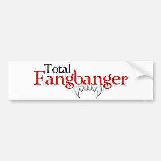Fanbanger Bumper Sticker