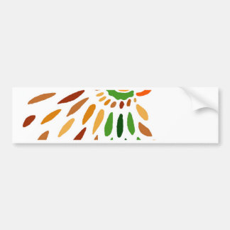 """Fanbird""  CricketDiane Art & Design Bumper Sticker"