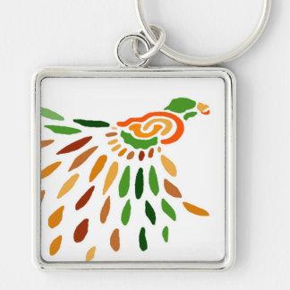 """""""Fanbird""""  CricketDiane Art & Design Keychain"""