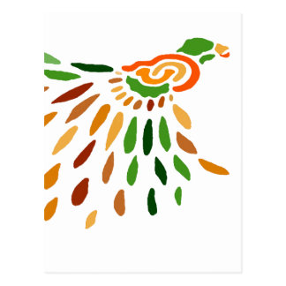 """Fanbird""  CricketDiane Art & Design Postcard"