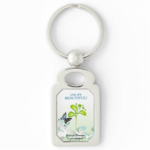Fancey thyroid keychain
