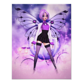 Fanciful Fairy-tales Canvas/Poster Print