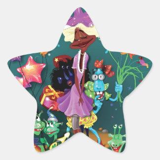 Fanciful Fairytale Sticker