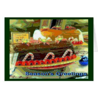 Fanciful Feast Card