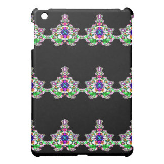 Fanciful Figurines Abstract Design iPad Mini Cover