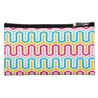 Fanciful Greek Arcade Pattern Cosmetic Bags