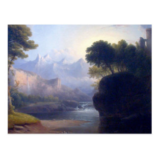 Fanciful Landscape by  Thomas Doughty Postcard