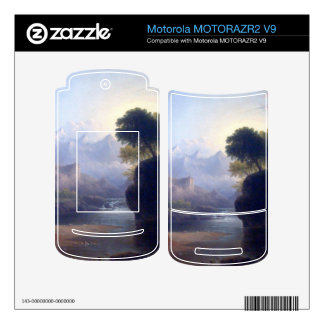 Fanciful Landscape by Thomas Doughty MOTORAZR2 V9 Skins