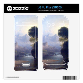 Fanciful Landscape by Thomas Doughty Decals For The LG Vu Plus