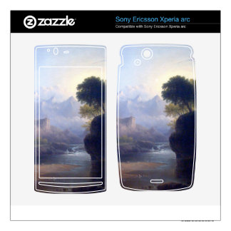 Fanciful Landscape by Thomas Doughty Xperia Arc Skins