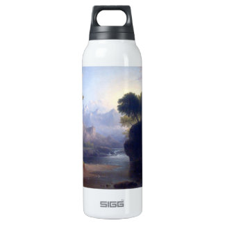 Fanciful Landscape by Thomas Doughty Thermos Bottle