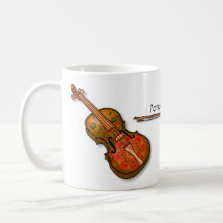 Fanciful Violin for the Violinist Coffee Mug