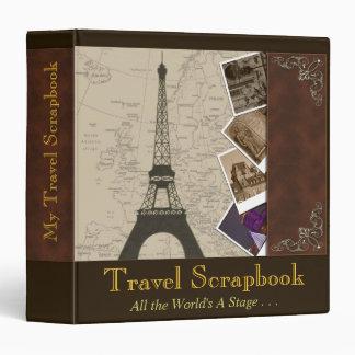Fancy 1½ Inch Binder Travel Scrapbook Organizer