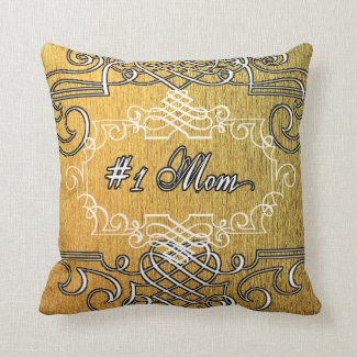 Fancy #1 Mom Golden Mother's day