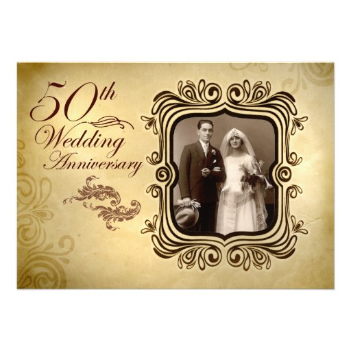 50Th Wedding Invitations is one of our best ideas you might choose for invitation design