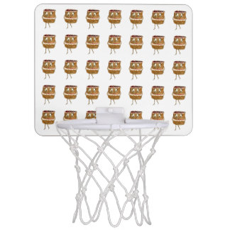 Fancy a cake? Funny black forest gateaus ball hoop Mini Basketball Backboards