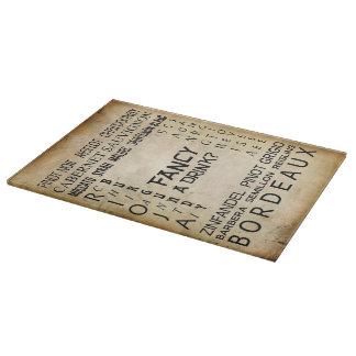 Fancy A Drink Cutting Board! Cutting Board