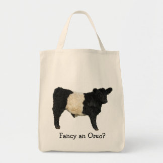 Fancy an Oreo? Belted Galloway Cow Tote Bag