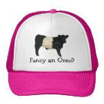 Fancy an Oreo? Belted Galloway Cow Trucker Hat