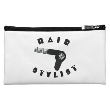 Professional Business Fancy and Pretty Cosmetologist Hair Stylist Cosmetic Bag