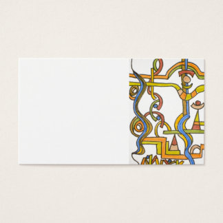 Fancy Ant Farm - Abstract Art Business Cards