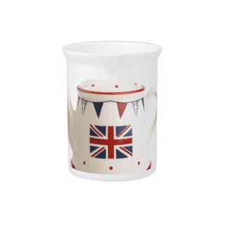 Fancy Antique English Teapot Coffee Pot Style Beverage Pitcher