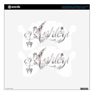 Fancy Ashley Signature PS3 Controller Skins